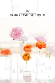 7d7c7a4b2294c0f10cdf146bdad811af  floating flowers flower table - DIY floating flower