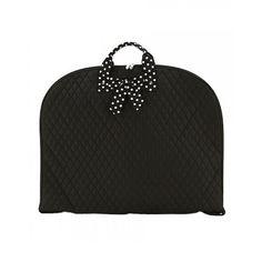 Belvah Bags - Garment Bag (Black/White)