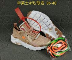 750a464a9ddd6 Mens Womens Nike Air Huarache Run Ultra BR Black Gold White Running Shoes