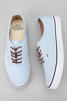 #blue #vans #shoes