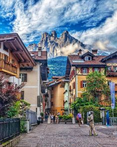 San Martino di Castrozza, Italy  I want to be here right now!