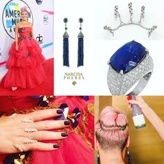 Loved her #AMAs outfit   - Dress: Monique Lyulieu - Earrings: Narcisa Pheres - Arm Ornament: Yeprem - Rings: Spallanzani and Le Vian  P!NK (Alecia Beth Moore) Fanclub  http://ift.tt/2uNVxEO
