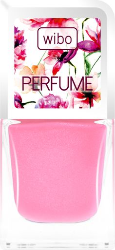 Lakier PERFUME nr 2 #manicure #wibo #perfume #garden #flower #nails #nailsart #color #pink