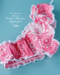How-To: Cute Cotton Panties     By Haley Pierson-Cox     Posted January 28th, 2013 9:00 am