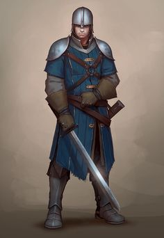 Rpg player character inspiration in 2019 fantasy characters, character art, Fantasy Warrior, Fantasy Male, Fantasy Rpg, Medieval Fantasy, Fantasy Artwork, Medieval Armor, Fantasy Character Design, Character Concept, Character Inspiration