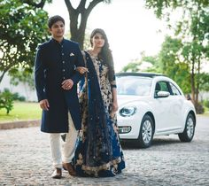 turkish client with designer lehenga and sherwani.whatsapp on to order this. Engagement Couple Dress, Couple Wedding Dress, Indian Wedding Couple, Indian Engagement Outfit, Wedding Couples, Wedding Kurta For Men, Wedding Dresses Men Indian, Indian Bridal Outfits, Indian Weddings