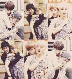 D.O. & Baekyun, SuHo & Chen, and Lay & Luhan #EXO D.O does it better :))