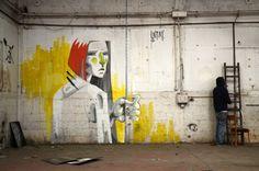 Untay aka Boaz Sides est un illustrateur et street artist originaire de Tel Aviv. Untay transpose ses oeuvres sur de multiples supports et utilise différentes techniques de peinture et de dessin alliant ainsi l'acrylique à la peinture au spray en passant par l'acrylique. Une diversité de médiums qui donne à ses travaux un aspect singulier.