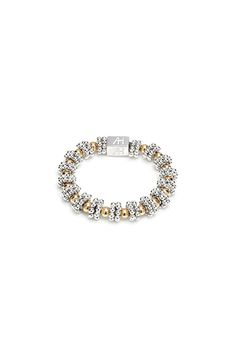 Glisten with these elegantly designed ring featuring 14ct gold plate beads , its the perfect edition to any ANNIE HAAK collection