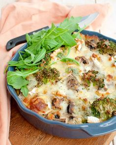 Recipe: Low-carb oven dish with broccoli and ham - Savory Sweets - Recipe: Low-carb oven dish with broccoli and ham – Savory Sweets - Clean Recipes, Low Carb Recipes, Cooking Recipes, Healthy Recipes, Alive And Cooking, Low Carb Casseroles, Food Hacks, Good Food, Food And Drink