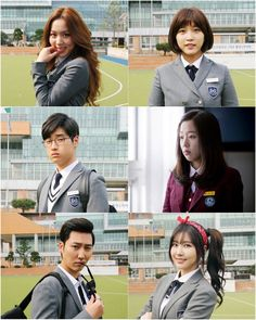 Who Are You: School 2015 Gears Up for Premiere Next Week with New Posters and… Watch Korean Drama, Korean Drama Movies, Korean Dramas, Who Are You School 2015, Drama Fever, Drama Drama, Best Kdrama, Moorim School, Drama School