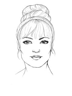 Wedding hair for every face shape Square face: Oversized bun with wispy fringe Heart Shaped Face Hairstyles, Square Face Hairstyles, Face Shape Hairstyles, Fringe Hairstyles, Bun Hairstyles, Hairdos, Hairstyle Ideas, Updos, Hair Ideas