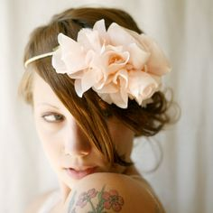 flower crown 'patisserie' pink floral by whichgoose on Etsy, $100.00  'gorgeous, gorgeous shop!'
