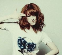 Florence's red hair
