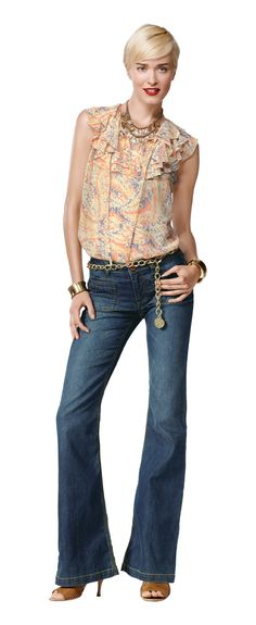 The Farrah jean...on my wishlist for my CAbi Spring show.
