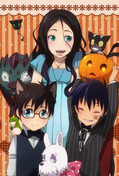 Blue exorcist Halloween