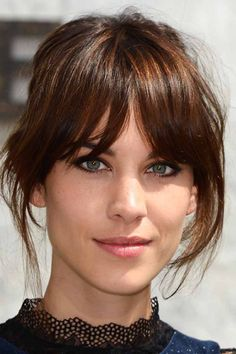 Alexa Chung's Best-Ever Hair Moments: Tousled Waves, Blunt Bangs & Ombre Strands | Beauty | Grazia Daily