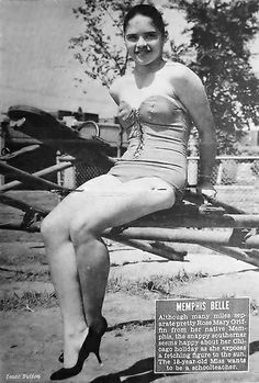 Memphis Belle Rose Mary Griffin - Jet Magazine, August 21, 1958