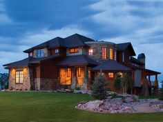 Mountain Home Plan Front of Home 101S-0003 | House Plans and More from houseplansandmore.com