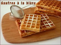 Beignets, Waffles, Cooking, Breakfast, Pains, Food, Cooking Recipes, Savory Waffles, Kitchen