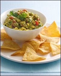 Never liked the guac they slap on  your plate at your average mexican restaurant but this is fabulous!!!  This is also the skinny version. see my other pin for the regular version.