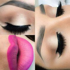 Soft Makeup with Pink Lips Flawless Makeup, Gorgeous Makeup, Pretty Makeup, Love Makeup, Makeup Inspo, Makeup Inspiration, Makeup Tips, Makeup Looks, Hair Makeup