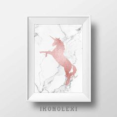 Cool posters make best gifts Unicorn Poster, Unicorn Wall Art, Baby Girl Room Decor, Baby Room, Unicorn Printables, Best Birthday Gifts, Rose Gold Glitter, Cool Posters, Poster Making