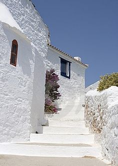Photo about Curved path past white walled building Skopolos near island of Skiathos, Greece. Image of plant, curve, greece - 8292287 Albania, Skiathos Island, Places To Travel, Places To Go, Myconos, White Building, Greece Islands, Beautiful Places To Visit, Greece Travel