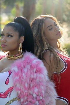 Nicki Minaj & Beyoncé #FeelinMyself