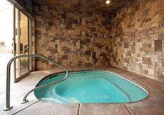 indoor hot tub....can't wait to enjoy...mmm