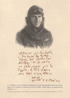 Στις 04 02 1943, εκτελείται στην Καισαριανή από τους Γερμανούς, ο Αξιωματικός της Πολεμικής Αεροπορίας Κώστας Περρίκος, ο οποίος ήταν από τους πρώτους που ανέπτυξαν αντιστασιακή δράση στην Αθήνα (μέγιστη επιτυχία η ανατίναξη της προδοτικής ΕΣΠΟ). Old Pictures, Old Photos, Greek History, In Ancient Times, Military History, Wwii, Respect, Nostalgia, The Past