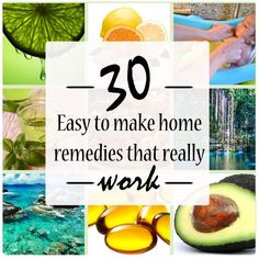 30 home remedies that actually work! #12 saved me a trip to the pharmacy.