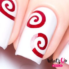 Swirl Tape for Nail Art Spiral Stickers for Nails by WhatsUpNails