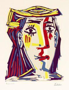 Femme au Chapeau, Pablo Picasso