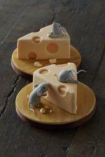 ネズミ&チーズ ケーキ