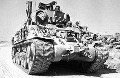 Israeli M-32 (based on HVSS) in Golan / 1973.