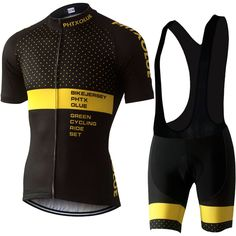 Phtxolue Cycling Clothing Cycling Sets Bike Clothing Breathable Men Bicycle  Wear Spring Summer Short Sleeve 016d48d72