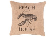 Natural & Black Rustique Ray Pillows-Pair | Mitchell Williams