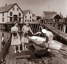 Gulf of Maine Research Institute: Lobstering History