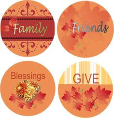 es FREE Printable Cupcake Toppers for the Fall.