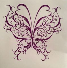 60 Awesome free butterfly tattoo designs + the meaning of butterfly tattoos. Designs include: feminine, tribal and lower back butterfly tattoos. Tribal Butterfly Tattoo, Butterfly Tattoo Designs, Butterfly Design, Butterfly Wings, Butterfly Stencil, Butterfly Wall, Colouring Pages, Adult Coloring Pages, Coloring Books