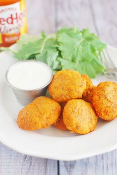 Baked Buffalo Chicken Nuggets #paleo