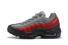 "save off fb6cd 8ae85 Nike Air Max 95 Essential ""Grey   Red""749766-025"