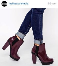 #musthave Botas Melissa Soldier