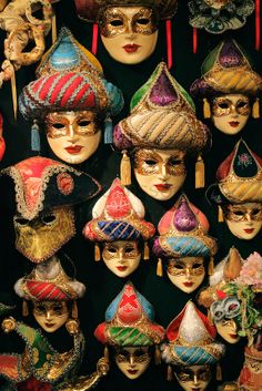 Venetian masks are a centuries-old tradition of Venice, Italy. The masks are typically worn during the Carnevale (Carnival of Venice), but h...