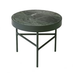 Indian Green Marble Table - Small Table Ferm Living on YOOX. The best online selection of Small Tables Ferm Living. Table Furniture, Furniture Design, Living Furniture, Black Marble Coffee Table, Marble Tables, Black Coffee, Modern Apartment Decor, Contemporary Side Tables, Paz Interior