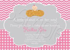 Printable Little Peanut Baby Shower by SpencerReedDesigns on Etsy, $15.00