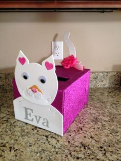 Kitty Cat Valentines Day Box For Your Donations