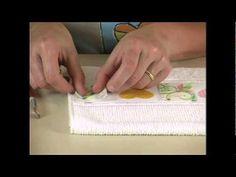 Seleção de técnicas - Decoupage em tecido