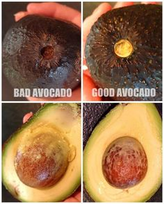 Check under the avocado's stem to see how ripe it is. 13 Useful Hacks Every Avocado Lover Needs To Know Avocado Recipes, Fruit Recipes, Baby Food Recipes, Fruit And Veg, Fruits And Veggies, Fruit Water, Vegetables, Healthy Snacks, Healthy Eating